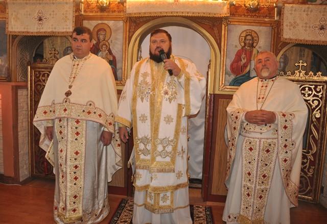 Liturghie Arhierească în Parohia Mirșid