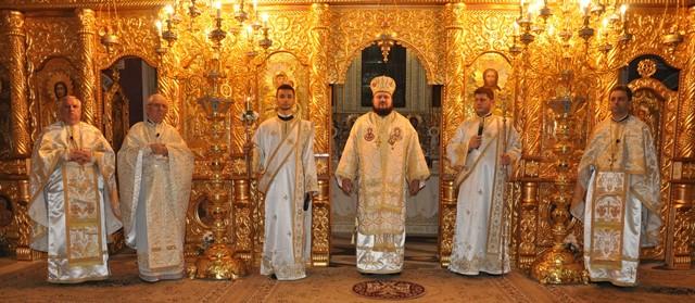 Praznicul Învierii Domnului la Catedrala Episcopală din Zalău