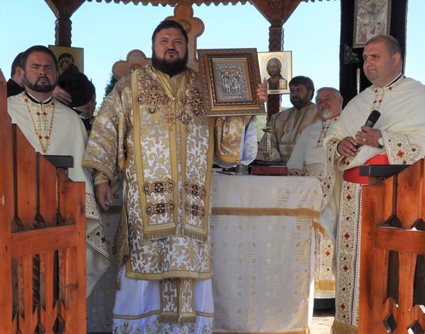 Resfințirea bisericii din Parohia Meseșenii de Sus