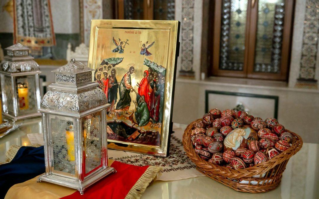 Îndrumări privind slujbele de Florii, din Săptămâna mare (a Sfintelor Pătimiri) şi de Sfintele Paşti