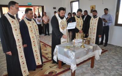 Sfințirea capelei mortuare din Parohia Bobota