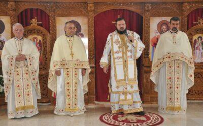 Prima Sfântă Liturghie oficiată în noua biserică a Parohiei Crișeni