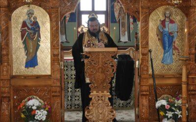 Denia celor 12 Evanghelii la Mănăstirea Bic
