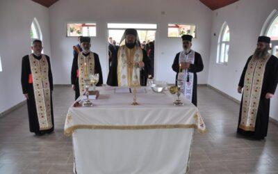 Binecuvântarea capelei mortuare din Parohia Rus
