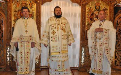 Liturghie Arhierească în Parohia Sfinții Împărați Constantin și Elena din Șimleu Silvaniei
