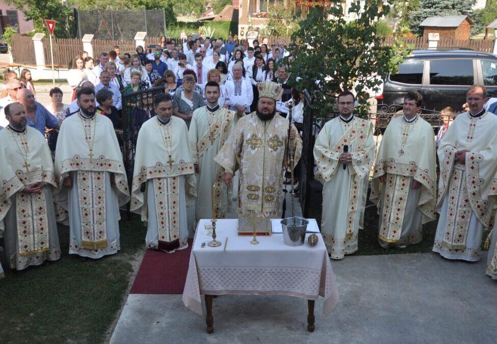 Resfințirea bisericii din Parohia Șeredeiu