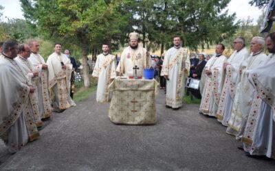 Binecuvântarea lucrărilor efectuate la biserica Parohiei Huseni