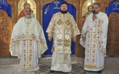 Slujbă de reîntemeiere a Sfintei Mese în filia Toplița